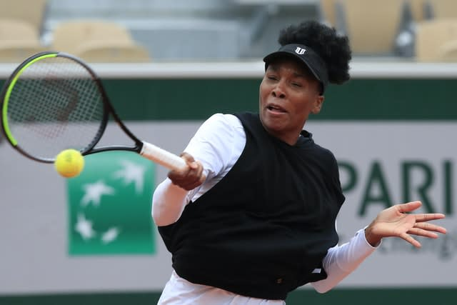 Venus Williams suffered another first-round defeat at a grand slam