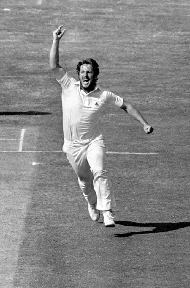 Sir Ian Botham took 383 Test wickets