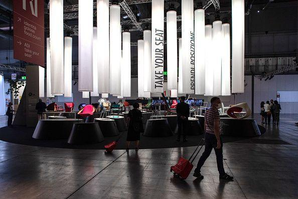 MILAN, ITALY - SEPTEMBER 05: Visitors visit Supersalone at Fiera di Rho-Pero on September 05, 2021 in Milan, Italy. Every year, the Salone Internazionale del Mobile (renamed Supersalone after the break caused by the pandemic in 2020) and Fuorisalone define the Milan Design Week, the world's largest annual furniture and design event. (Photo by Emanuele Cremaschi/Getty Images) (Photo: Emanuele Cremaschi via Getty Images)