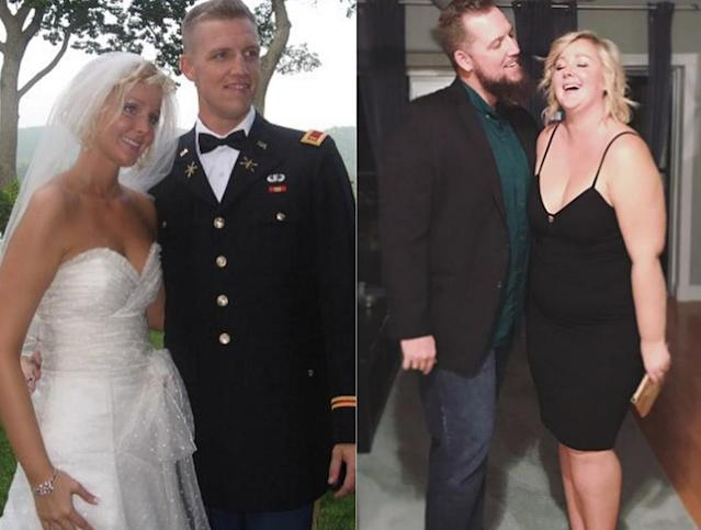 Allison Kimmey invited her husband to write a note about how his love for her has evolved, as she's gained weight. (Photo: Instagram/allisonkimmey)