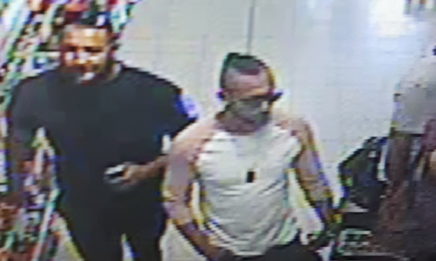 Images of three men who may hold 'vital information' have been released by police investigating the incident.