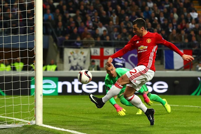 Opener | Henrikh Mkhitaryan scored in the first half (Clive Rose/Getty Images)