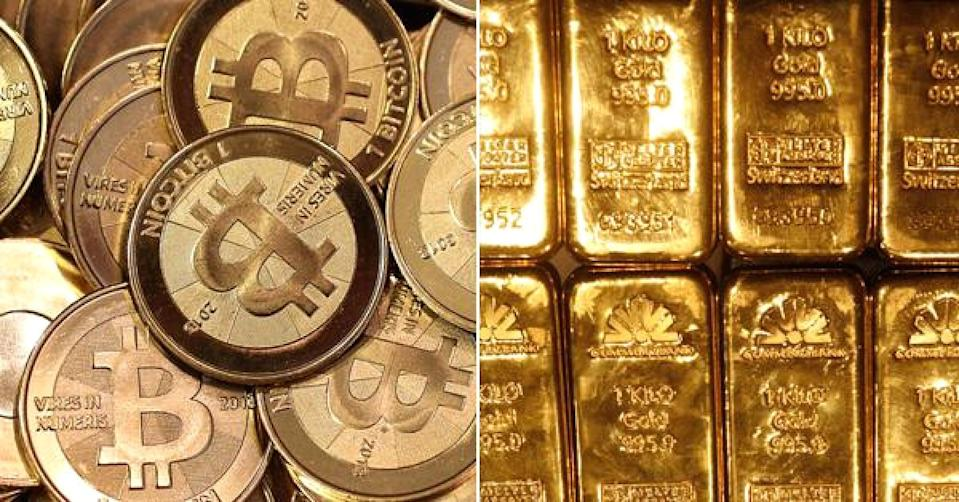Bitcoin or gold? Warren Buffett isn't interested in either. (Getty Images)