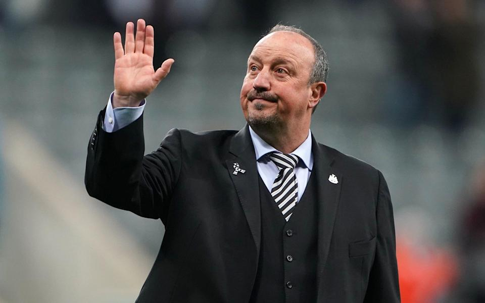 File photo dated 04-05-2019 of Newcastle United manager Rafael Benitez. PRESS ASSOCIATION Photo. Issue date: Tuesday July 2, 2019. Rafael Benitez is heading to China after the former Newcastle manager announced he had joined Dalian Yifan - Owen Humphreys/PA Wire.