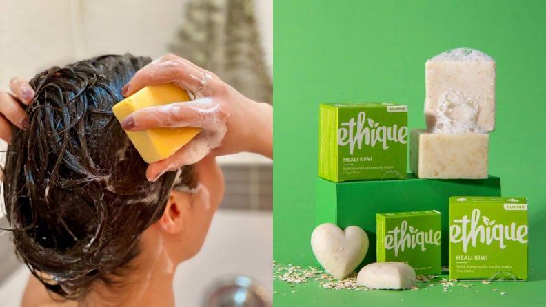 Ethique shampoo bars are some of the most sustainable.