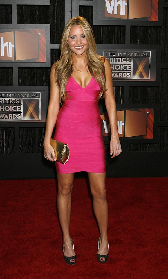 "<a href=""http://movies.yahoo.com/movie/contributor/1804649503"">Amanda Bynes</a> at the 14th Annual Critics' Choice Awards in Santa Monica - 01/08/2009"