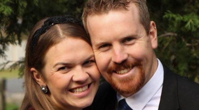 , Nick Jensen said he and his wife Sarah would dissolve their marriage, but remain in a relationship, if same-sex marriage was legislated in Australia. Photo: Facebook