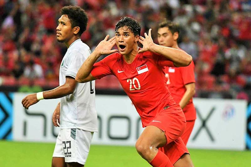 Singapore U18 earn valuable point against Thailand after 1-1 draw