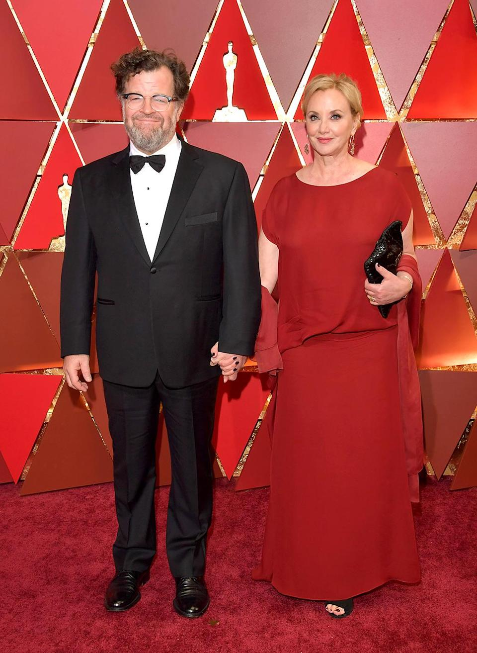 <p>Director Kenneth Lonergan and actor J. Smith-Cameron attend the 89th Annual Academy Awards at Hollywood & Highland Center on February 26, 2017 in Hollywood, California. (Photo by Lester Cohen/WireImage) </p>