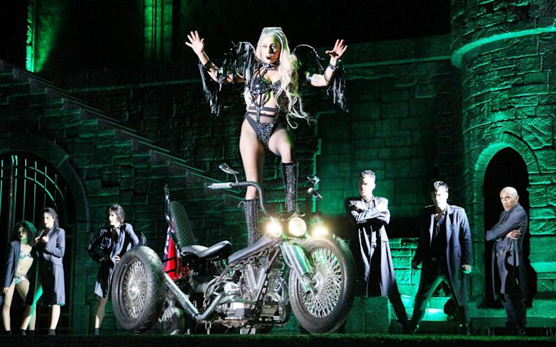 Unstoppable: Lady Gaga on her Born This Way tour - Alamy