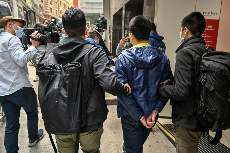 Over two days, more than 1,000 officers fanned out across Hong Kong and detained 55 democracy advocates on suspicion of 'subversion'