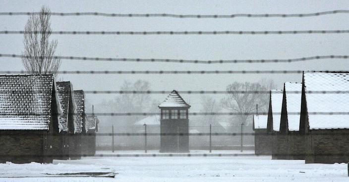 Over one million people were killed at the Nazi death camp Auschwitz (AFP via Getty Images)