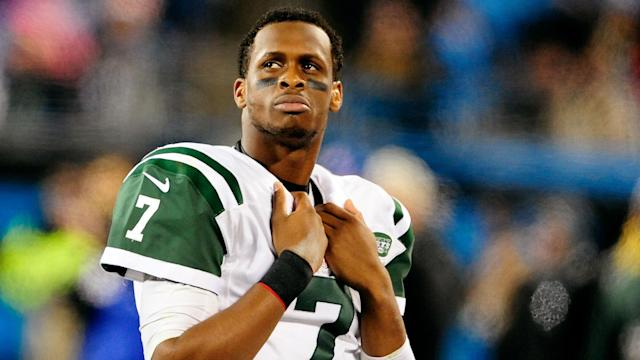 Geno Smith will compete for the backup job in New York.