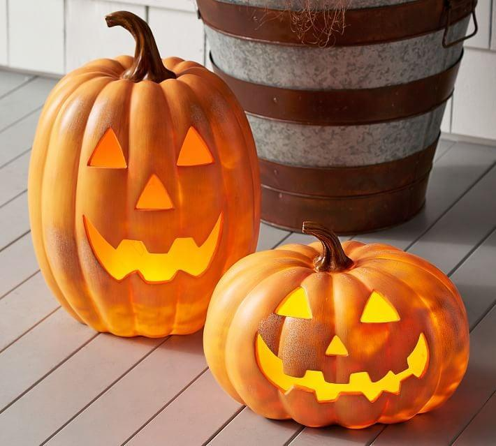 <p>Light up chilly October nights with these <span>Light Up LED Jack-O'-Lanterns</span> ($70-$99).</p>