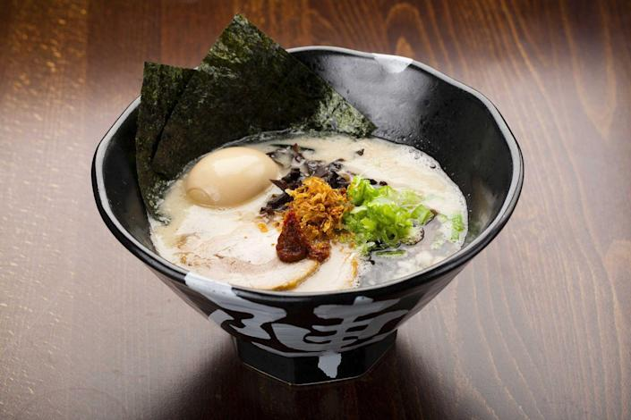<p>This hip ramen franchise is best known for its signature stocks and broths that are simmered for more than 10 hours. You can't go wrong with their two most popular dishes, the Tonkotsu Black or Spicy Chicken Ramen.</p>
