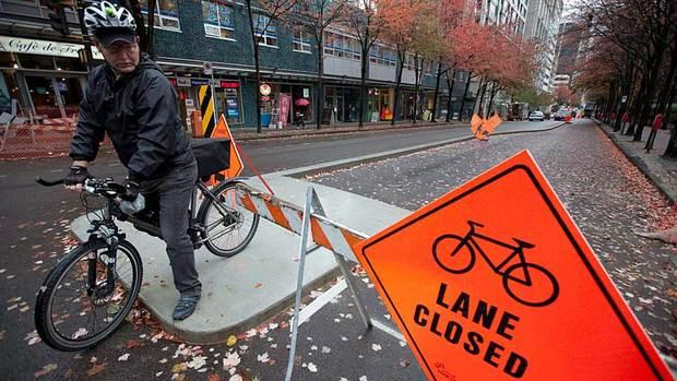 City council voted unanimously to keep the experimental Vancouver bike lanes.