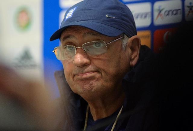 Uruguay's Sergio Markarian resigns as coach of the Greek national team after a series of defeats (AFP Photo/Attila Kisbenedek)