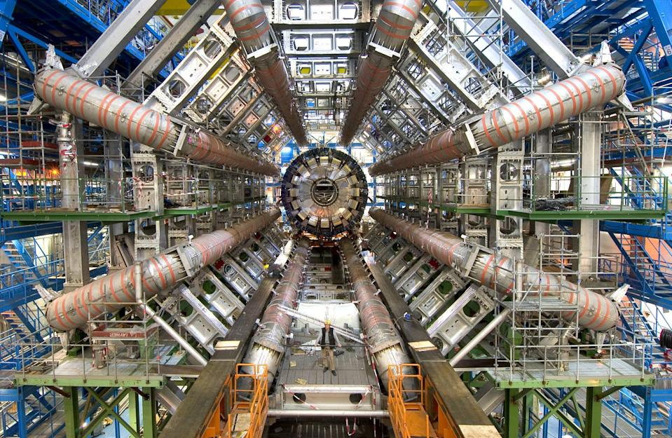 Could machines like the Large Hadron Collider pose unknown risks? (Picture PA)