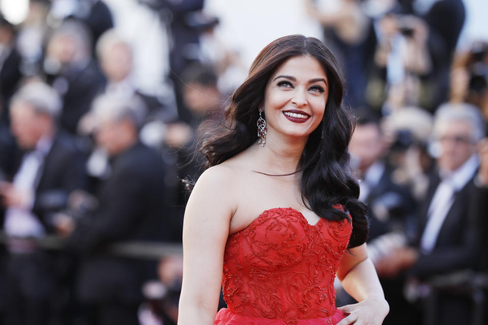 CANNES, FRANCE - MAY 20:  Aishwarya Rai attends the