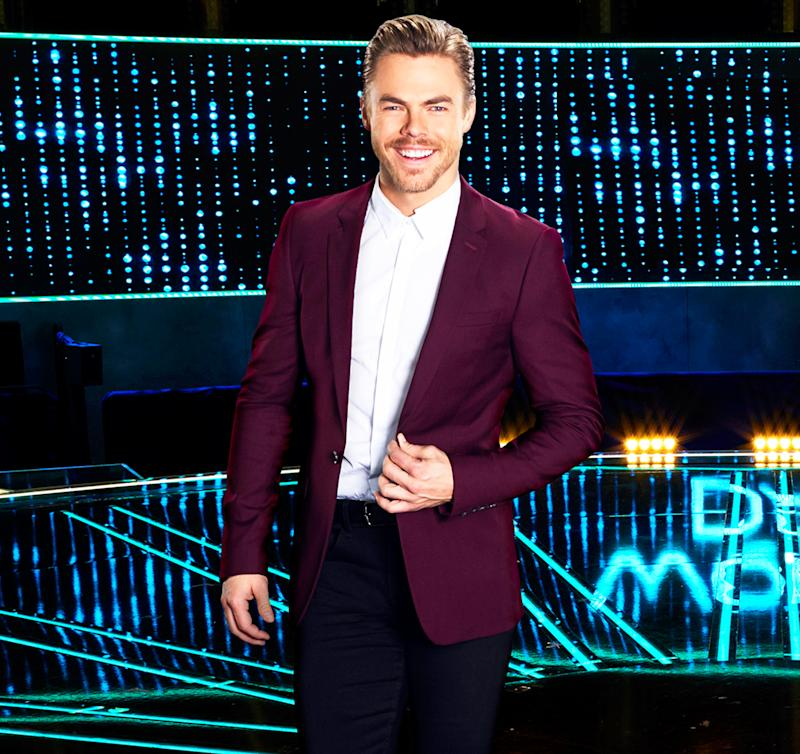 World Of Dance's Derek Hough Had To Wear His Sisters' Hand