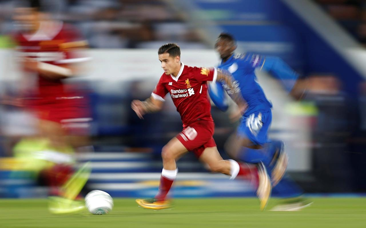 Premier League betting: offers and suggested bets What is it? It's the second meeting in a week between the Premier League champions of 2015-16 and the 18-times champions of England. On Tuesday night in the Carabao Cup - and yes it still feels strange to type the words Carabao Cup - Leicester City hosted Liverpool at the King Power and won 2-0. Shinji Okazaki and Islam Slimani scored the second-half goals to give the home side the same margin of victory as their 2015-16 encounter in the Premier League in the city we all like to refer to as Ratae Corieltauvorum. Back then it was Jamie Vardy's two goals that sent Liverpool on their way with a 2-0 defeat. Last season Leicester ran out 3-1 winners in Craig Shakespeare's first match in charge. When is it? It's on the weekend of the sixth round of Premier League fixtures, specifically on Saturday, September 23. What time is kick-off? This match between 15th-placed Leicester City and eighth-placed Liverpool (at least those were the positions when Saturday came) has been selected for your tea-time treat. It kicks off at the aforementioned King Power Stadium at 5.30pm. What TV channel is it on? The match will be broadcast in the United Kingdom of Great Britain and Northern Ireland on BT Sport 1. Those of you without access to British Telecom's premier sports channel should join Will Magee right hereforour live blog that will inform and entertain. What is the team news, who is injured and suspended? Leicester gave groin-troubled Vardy the night off in the Carabao Cup but he is likely to start on Saturday evening if he passes a fitness test. Two other regular squad members, Christian Fuchs and Leonardo Ulloa, have also been monitored during the week and given the all clear thoughBen Chilwell may stiilldeputise for the Austria left-backand Ulloa's place on the bench is no longer assured now that Kelechi Iheanacho is match fit and Slimani and Okazaki made the difference on Tuesday night. Vicente Iborra hurt his groin on Tuesday 