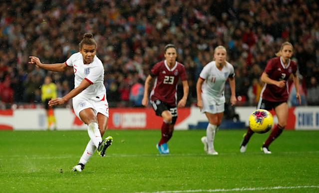 England's Nikita Parris (Action Images via Reuters/Andrew Boyers)