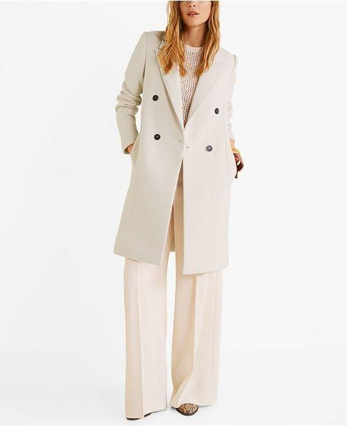 """<p>This <a href=""""https://www.popsugar.com/buy/Mango-Structured-Wool-Coat-490269?p_name=Mango%20Structured%20Wool%20Coat&retailer=macys.com&pid=490269&price=130&evar1=fab%3Aus&evar9=46613565&evar98=https%3A%2F%2Fwww.popsugar.com%2Ffashion%2Fphoto-gallery%2F46613565%2Fimage%2F46613572%2FMango-Structured-Wool-Coat&list1=shopping%2Cfall%20fashion%2Ccoats%2Cfall%2Cmacys&prop13=mobile&pdata=1"""" rel=""""nofollow"""" data-shoppable-link=""""1"""" target=""""_blank"""" class=""""ga-track"""" data-ga-category=""""Related"""" data-ga-label=""""https://www.macys.com/shop/product/mango-structured-wool-coat?ID=10148268&amp;CategoryID=269&amp;swatchColor=Grey#fn=sp%3D1%26spc%3D1060%26ruleId%3D105%7CBOOST%20SAVED%20SET%7CBOOST%20ATTRIBUTE%26searchPass%3DmatchNone%26slotId%3D26"""" data-ga-action=""""In-Line Links"""">Mango Structured Wool Coat</a> ($130) is for your inner boss business lady.</p>"""