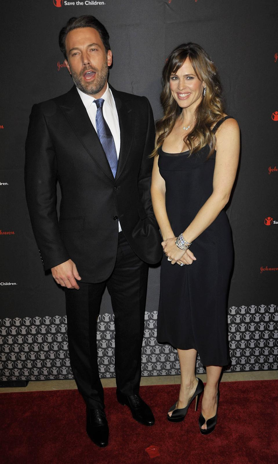 Jennifer Garner & Ben Affleck File For Divorce 4/14/17 File Photo by: Patricia Schlein/STAR MAX/IPx 2014 11/19/14 Ben Affleck and Jennifer Garner at the 2nd Annual Save The Children Illumination Gala. (NYC)