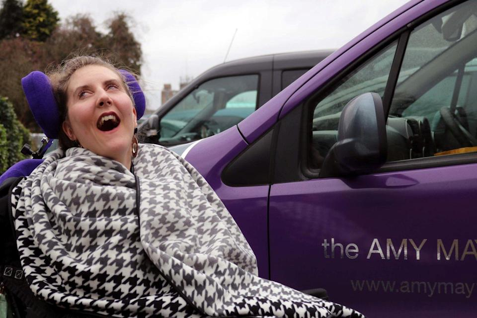 The Amy May Trust works towards raising funds for Amy as well as raising awareness of nut allergies (SWNS)