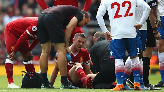 Referee Andre Marriner's decision not to award a penalty for handball against Stoke's Erik Pieters irked the Reds captain