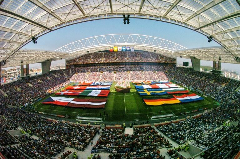 (FILES) Porto's Estadio do Dragao when it hosted the opening ceremony of Euro 2004