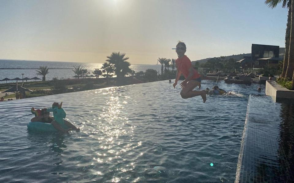 Family holidays are a chance to jump feet first out of lockdown life - CLAIRE IRVIN