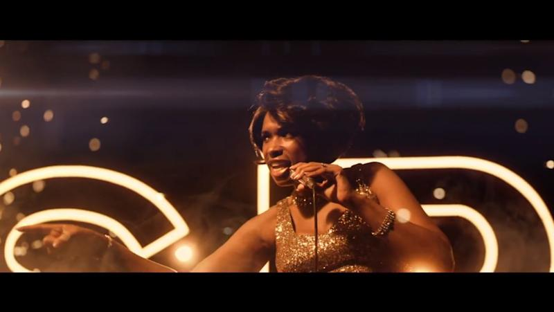 "Jennifer Hudson canta ""Respect"" en el primer video del filme de Aretha Franklin"