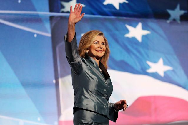 Trump aims to help GOP Rep. Marsha Blackburn, who's running in a tight race against Democrat Phil Bredesen.