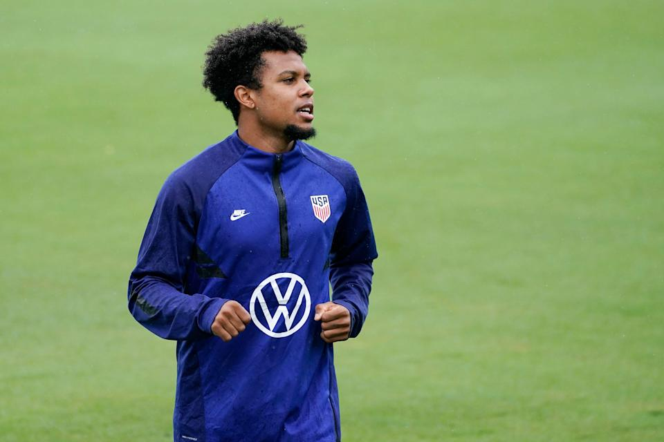 Weston McKennie is one of 16 players on the U.S. roster who is also playing in Europe.