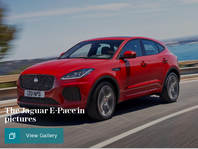 cars jaguar e-pace in pictures puff