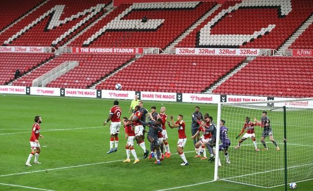 EFL fixtures will continue under the new measures
