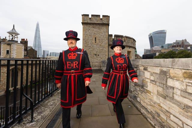 Beefeater new recruits