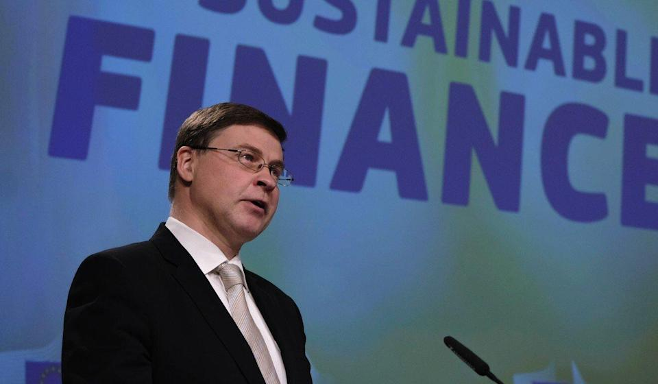 Valdis Dombrovskis of Latvia is trade commissioner for the European Union. Photo: SOOC/Bloomberg