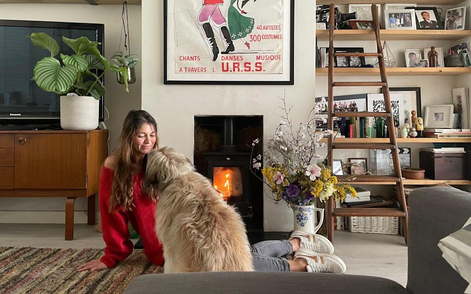 Sarah Rodrigues is loath to give up her wood burner - Leon Rodrigues-Miller