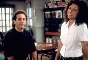 Jerry Seinfeld and Julia Louis-Dreyfus   Photo Credits: Sony Pictures