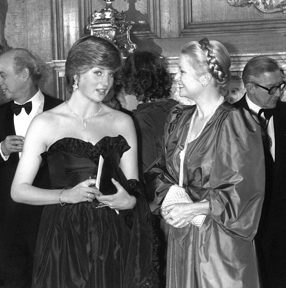 David and Elizabeth Emanuel created many dresses for Diana including this iconic gown [Photo: PA]