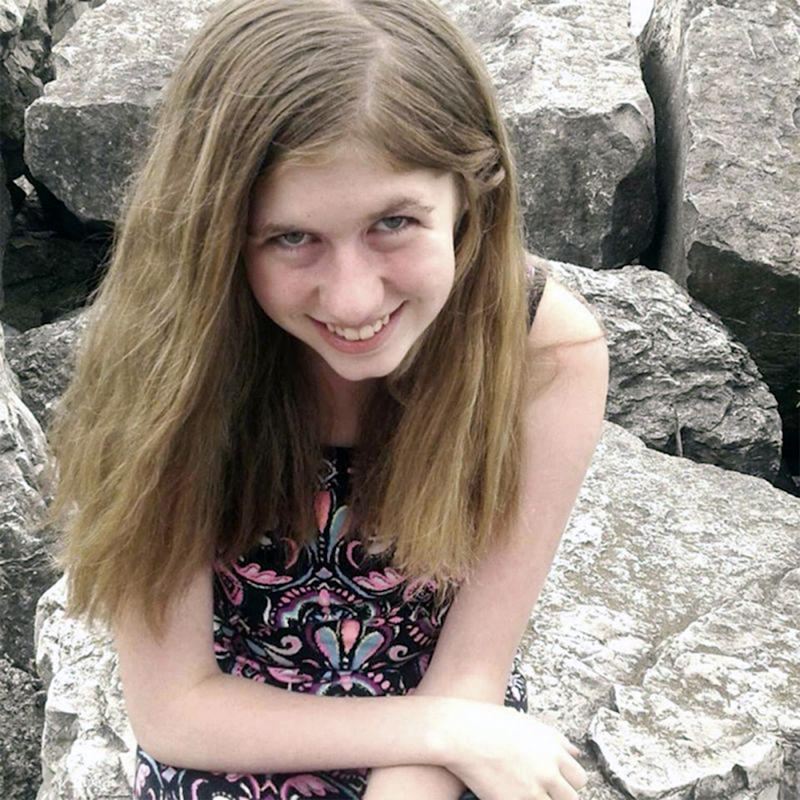 Missing teen Jayme Closs (pictured) was found alive after her parents were murdered and being kidnapped.