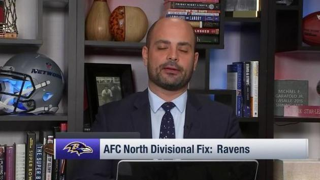 <p>Mike Garafolo: Baltimore Ravens unlikely to use first-round pick on quarterback this year, but may do it in 2019</p>
