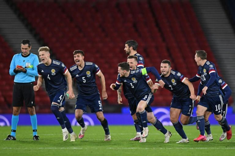 Scotland beat Israel on penalties last month to set up a play-off final in Serbia