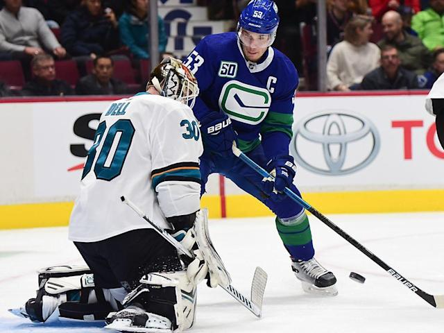 Canucks 4, Sharks 1: Hitting the break in first place