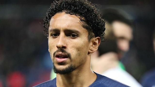 Marquinhos will miss PSG's game at Montpellier after his son's birth, with the Ligue 1 side fuming after L'Equipe du Soir mocked the player.