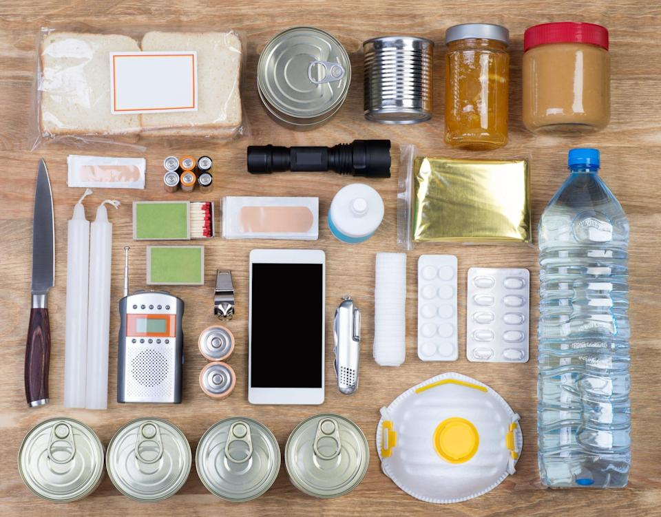 Prep for emergencies with an essentials kit.
