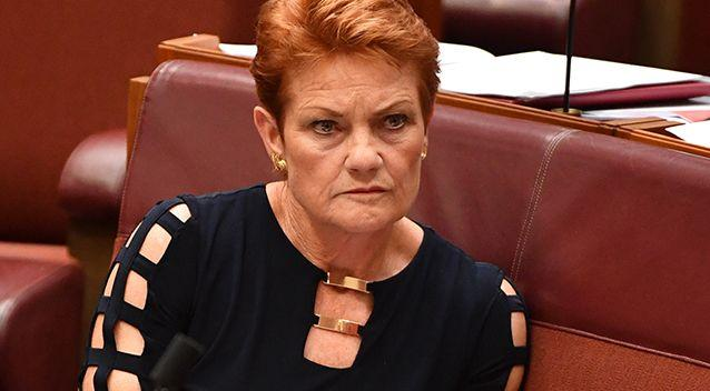 Pauline Hanson's anti-vaccination comments have infuriated doctors. Photo: AAP