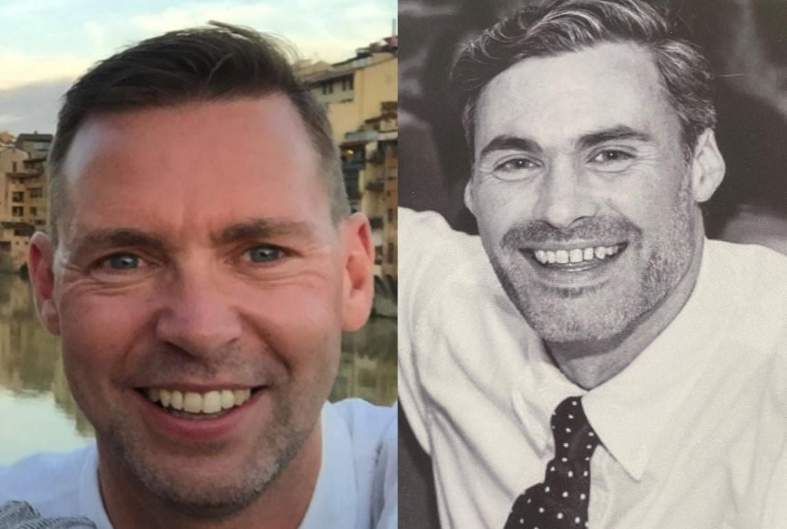 John-Paul Cassidy (L) and Nigel Eley were killed in the crash. (SWNS)